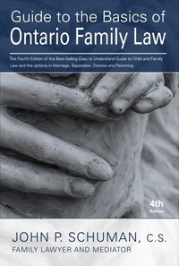 Guide to the Basics of Ontario Family Law - 4th edition cover