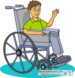 child with a disability / illness / injury