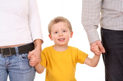child in shared custody receiving shared child support