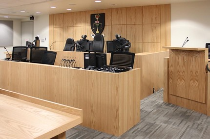 Ontario Courtroom