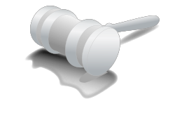 Judge hammer by raffaella_biscuso -  divorce court gavel