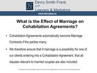 What is the Effect of Marriage on Cohabitation Agreements?