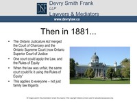 Then in 1881...